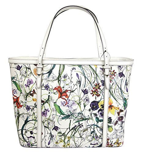 Gucci Leather Tote Bag Nice Flora Infinity Handbag 309613 6094