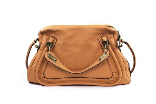 Chloe Handbags Paraty Large Shoulder Bag In Tan 8HS890-043