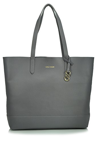 Cole Haan Palermo Tote Shoulder Bag, Storm Cloud, One Size