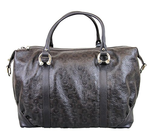 Gucci Horsebit Brown Boston Bag Leather Handbag 289718 2038