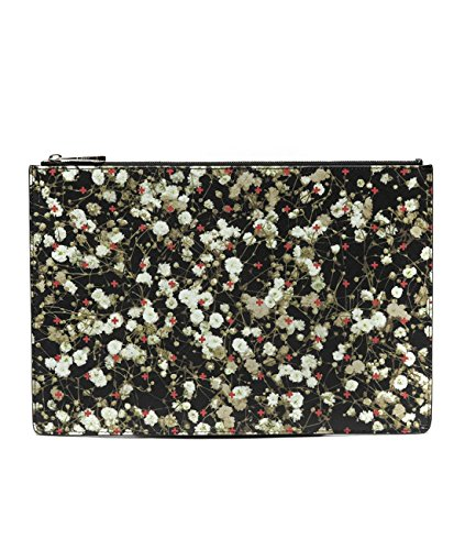 Wiberlux Women's Floral With Cross Print Clutch Bag L