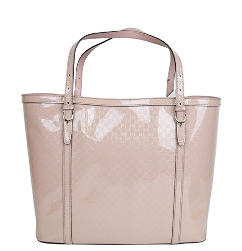 Gucci Nice Pink Microguccissima Patent Leather Handbag Tote Bag 309613 6812