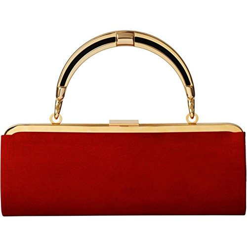 Balmain X H&m Women's Clutch Bag, Red