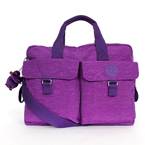 Kipling New Baby Bag with Changing Mat Tile Purple