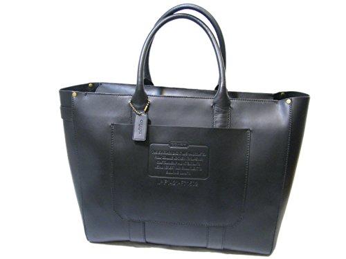 Coach RSH Zip Black Leather Tote Bag F71502