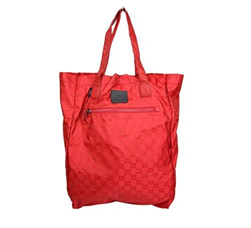 Gucci Guccissima Nylon Handbag Viaggio Collection Tote Bag 308877