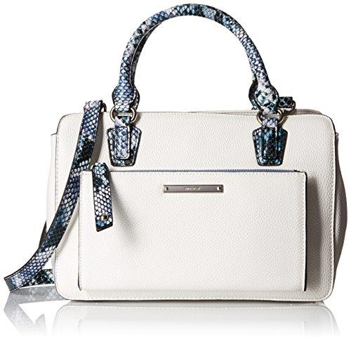Nine West Zip N Go Satchel Top Handle Bag