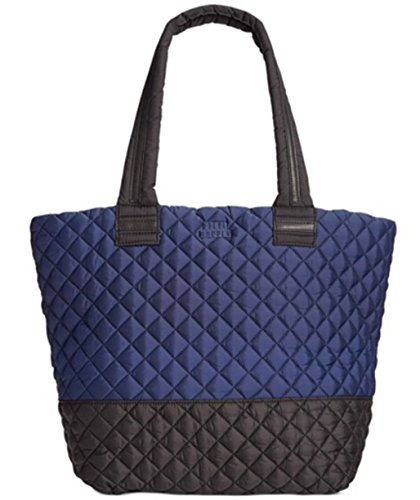 Steve Madden Roverr Quilted Tote (Navy)