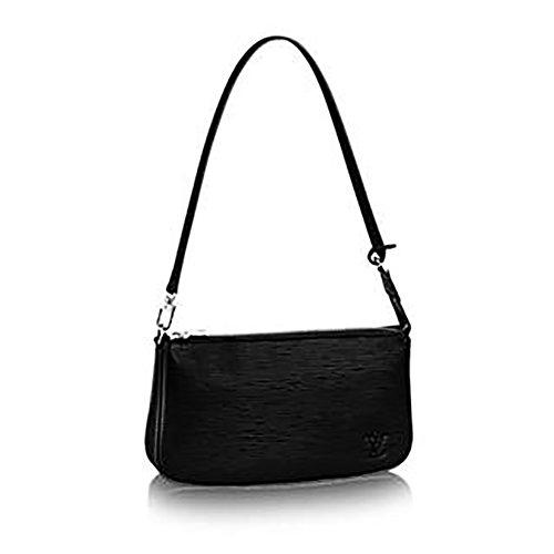 Authentic Louis Vuitton Monogram Canvas Shoulder Bag Clutch Handbag Pochette Accessoreis NM Article: M40632 Made in Italy