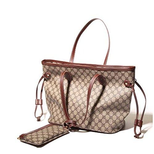 Bagoddess Lady Classical Shoulder Large Tote Handbag