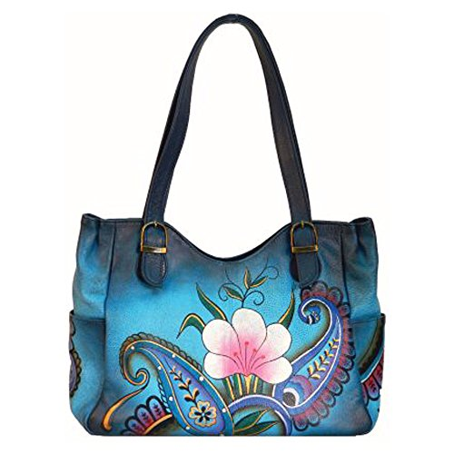 ANNA by Anuschka Hand Painted Medium Shoulder Bag