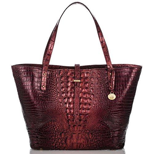 Brahmin All Day Tote Ember Melbourne Leather Bag