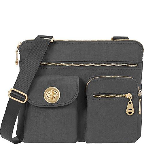 Baggallini Sydney Travel Crossbody Bag Gold Hardware