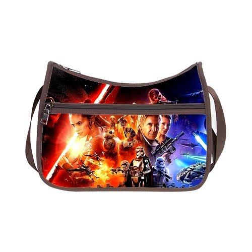 JIUDUIDODO Custom Oxford Fabric Amazing Star Wars Custom Classic Hobo Handbag (Twin Sides)