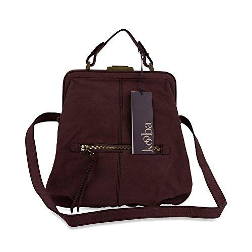 Kooba Jordana Shoulder Bag in Mulberry