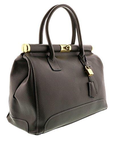 HS8005 MINERVA Leather Satchel/Shoulder Bag