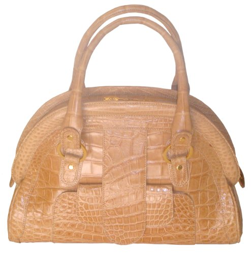 Aurora – Genuine Aligator Skin Handbag