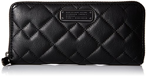 Marc by Marc Jacobs Crosby Quilt Leather Slim Zip Around Wallet