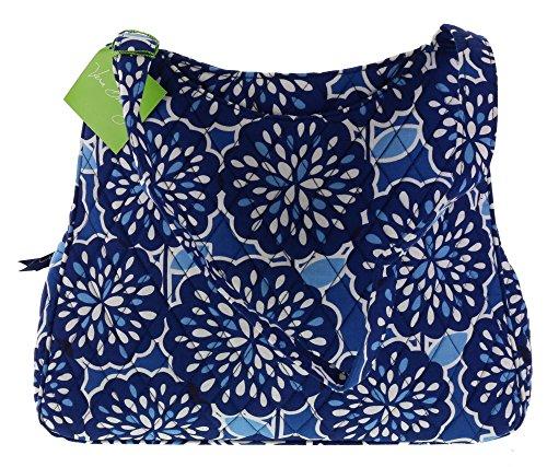 Vera Bradley Triple Compartment Handbag Purse Shoulder Bag Tote in Petal Splash