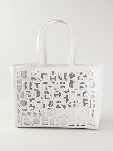 Tory Burch Handbag Large Tote Cut Out Optic White