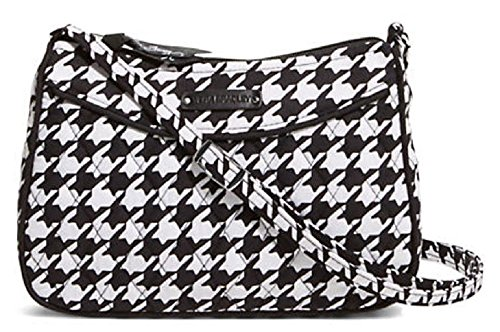 Gorgeous Vera Bradley Little Crossbody Handbag in Midnight Houndstooth