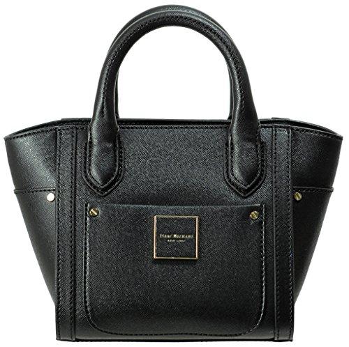 Isaac Mizrahi Designer Handbags: Saffiano Leather Valerie Mini Satchel