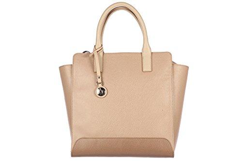 Armani Jeans women's handbag shopping bag purse beige
