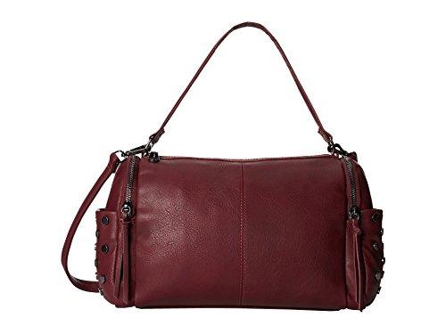 Steve Madden Blimone Medium Red Wine Satchel Handbag