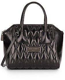 Valentino By Mario Valentino Minimi Quilted Leather Satchel Bag