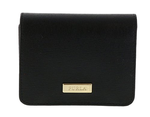 Furla Leather Classic Wallet in Onyx