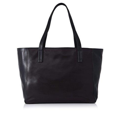 Prada Shopping Soft Calf Leather Tote Bag BR5109, Black