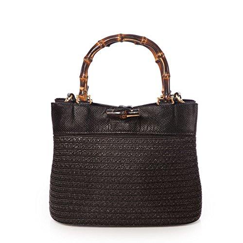 Eric Javits Designer Women's Lil Lu Handbag (Black)