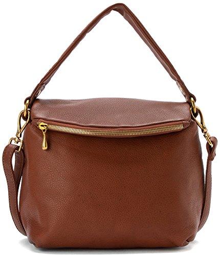 Hobo Handbags Supersoft Leather Briar Convertible Crossbody – Brandy