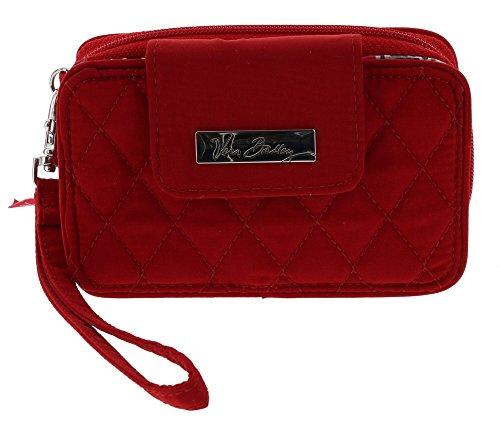 Vera Bradley Smartphone Wristlet Wallet in Tango Red