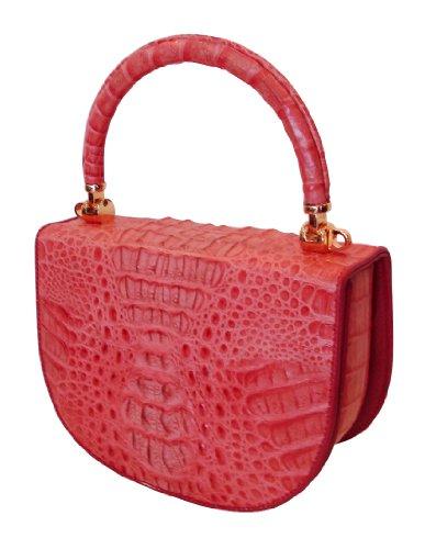 Lola Co – Genuine Crocodile Skin Handbag – Fantastic Offer: 50% Off !!!