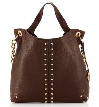 Michael Kors Uptown Astor Women's Large Tote Handbag Brown