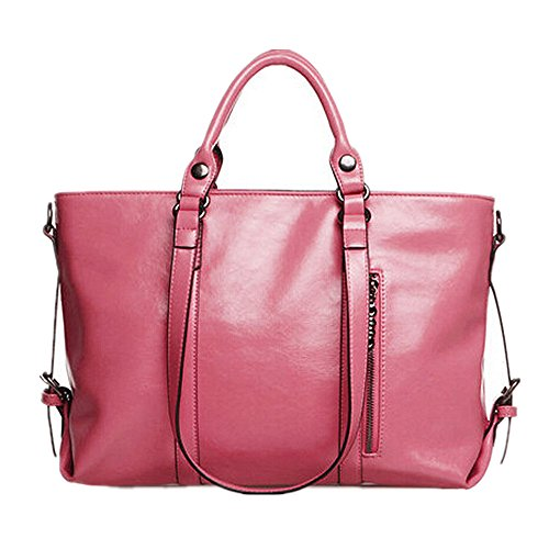 Women's Classic Fashion Tote Handbag Shoulder Bag Perfect Large Tote with Shoulder Strap
