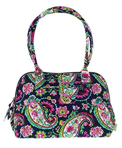 Vera Bradley Zip-Around Handbag Purse in Petal Paisley