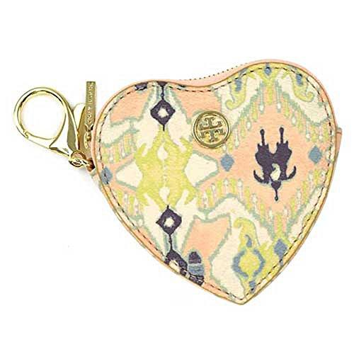 Tory Burch Kerrington Heart Zip Coin Case & Key Fob