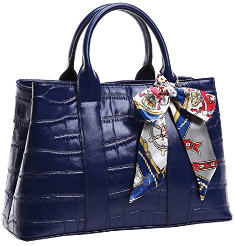Heshe® 2015 New Luxury Fashion Western Style Office Lady Leather Shoulder Bag Tote Top Handle Cross Body Bag Satchel Purse Handbag Simple Style