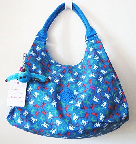 Kipling Bagsational Hobo Bag Azure Blue