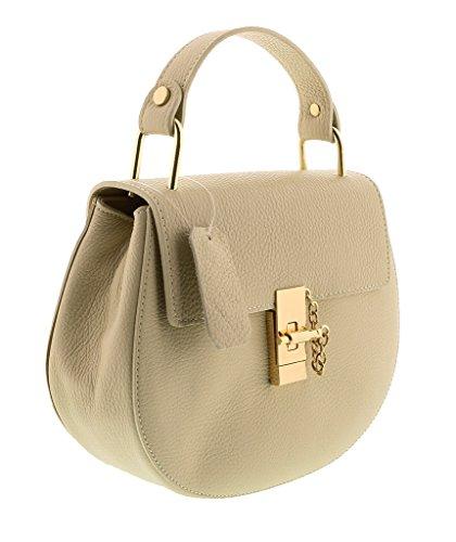 HS1151 CIRCE Leather Top Handle/Shoulder Bag