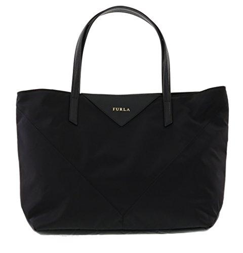 Furla Calypso Shoulder Handbag Tote Purse in Onyx