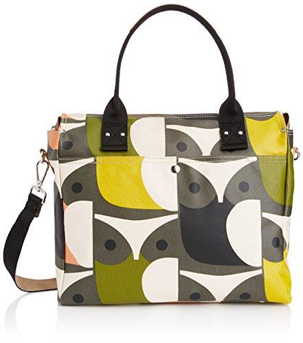 Orla Kiely Big Owl Printzip Messenger Bag