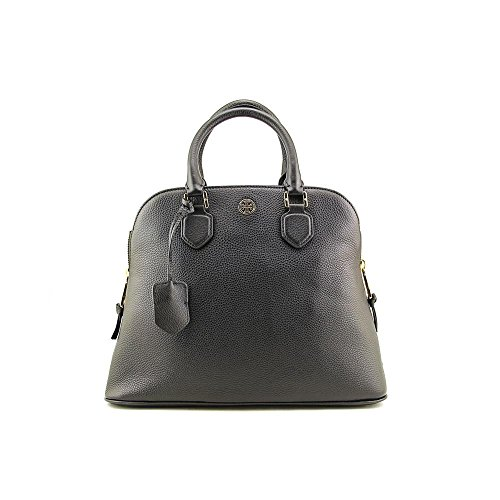Tory Burch Robinson Pebbled Open Dome Women Leather Satchel
