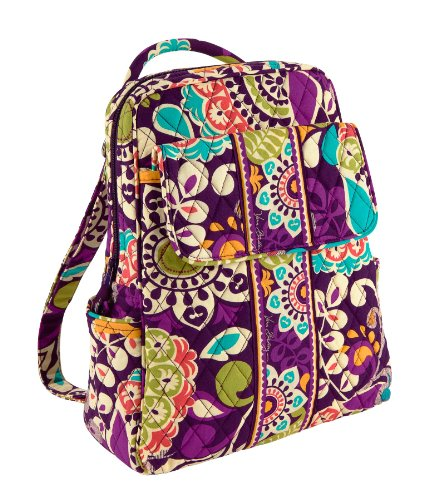Vera Bradley Backpack in Plum Crazy