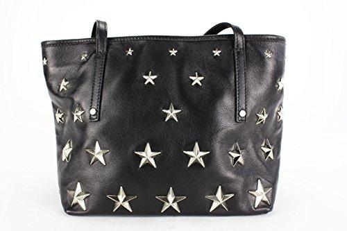 Jimmy Choo SASHA/NDS Black Shoulder Bag Medium