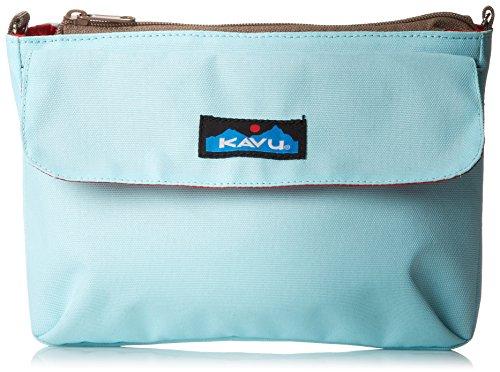 KAVU Women's Captain Clutch Bag, Sky Blue, One Size