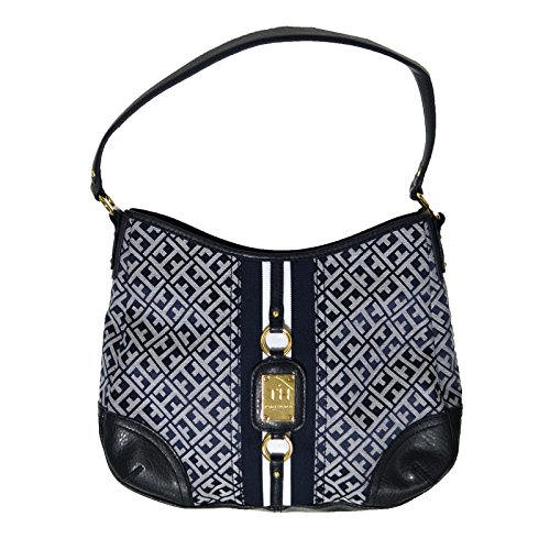 Tommy Hilfiger Hobo Purse Handbag in Navy