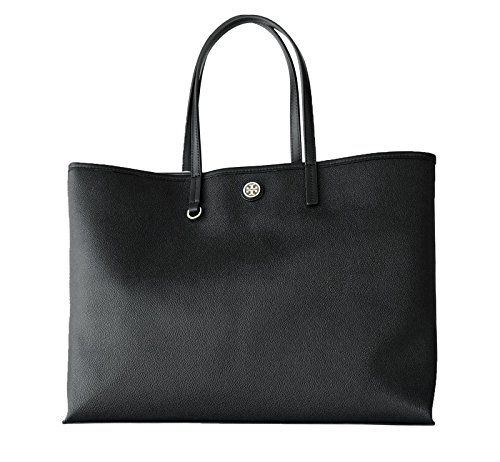 Tory Burch Cameron Black Tote Shopper